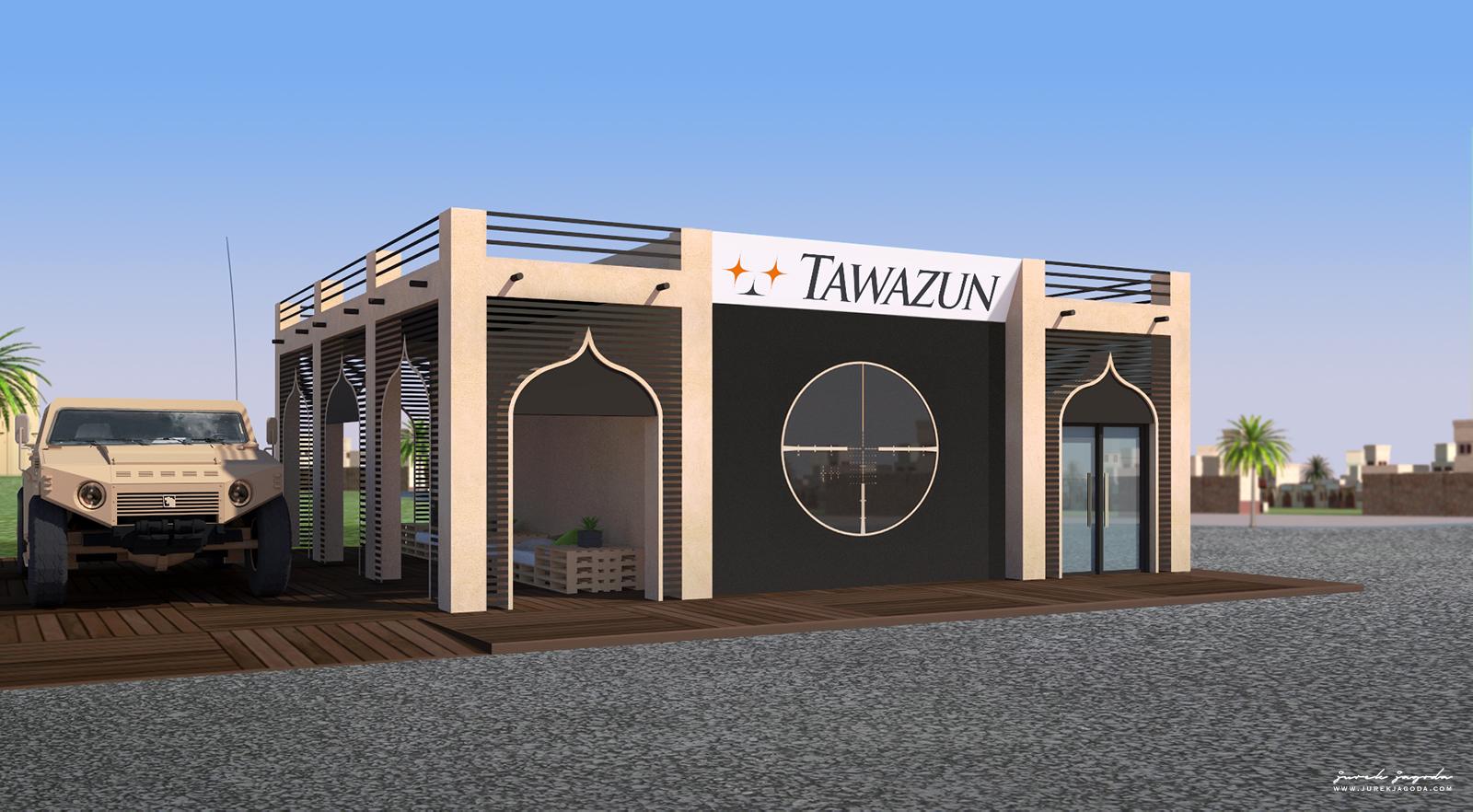 Tawazun, Pavilion Design, Abu Dhabi.