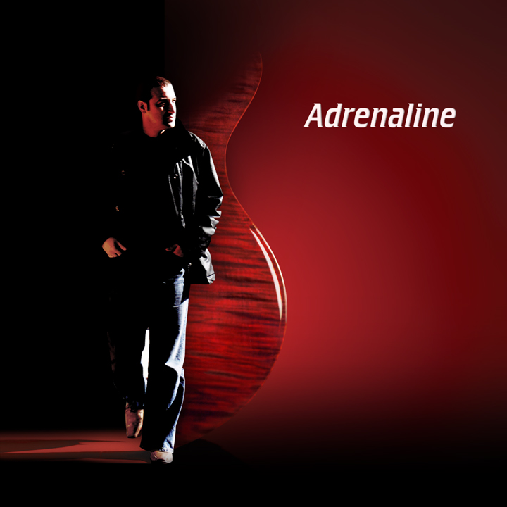 album adrenaline, cd cover
