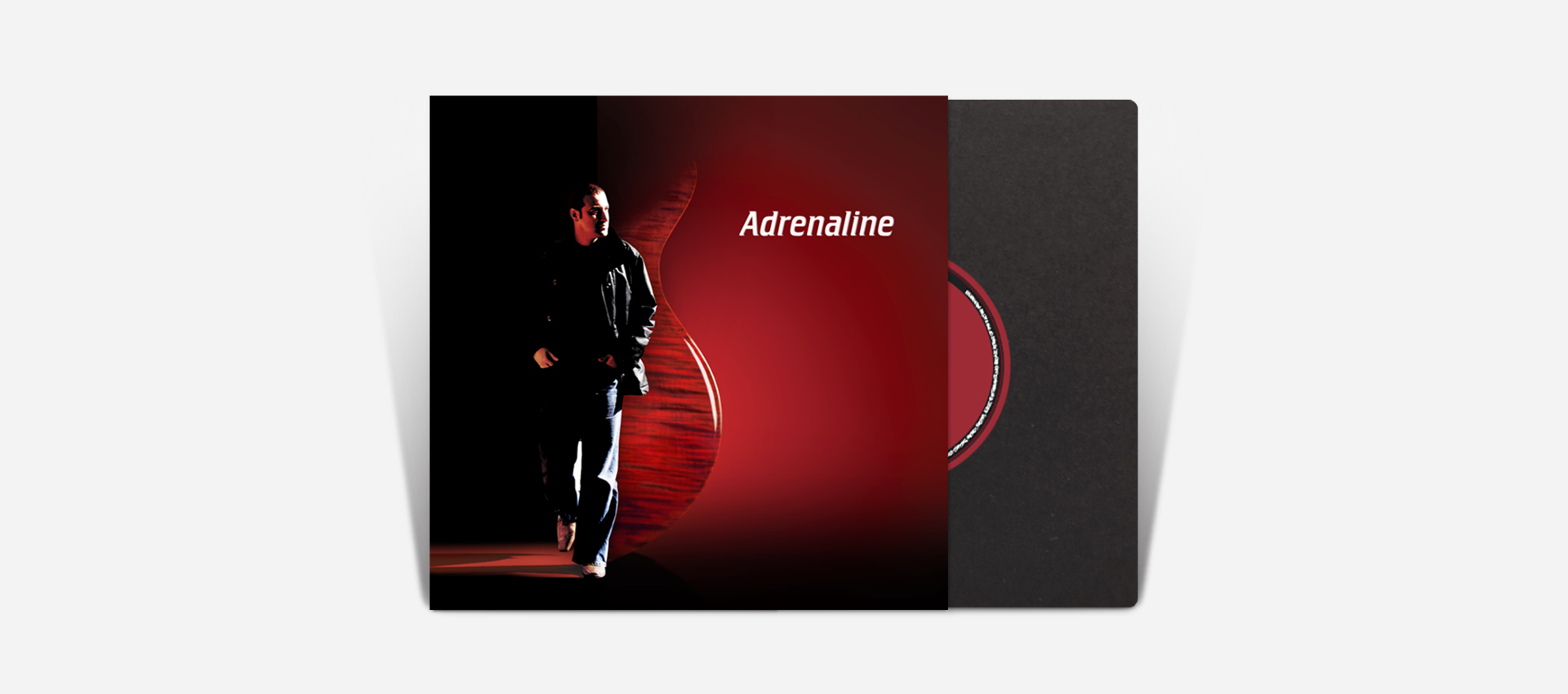 Adrenaline, album cover design